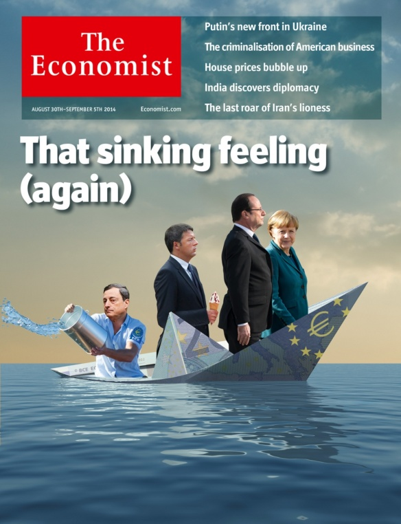 The Economist's European cover of 30 August 2014
